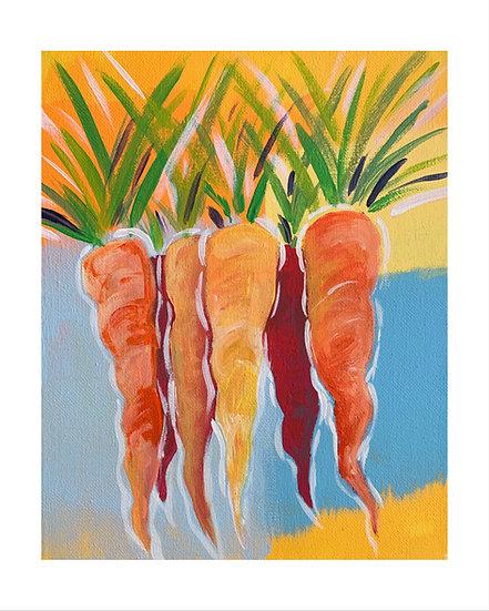 Carrot Bunch III