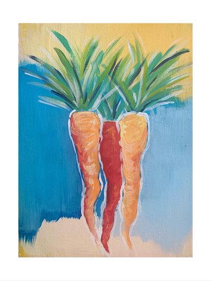 Carrot Bunch II
