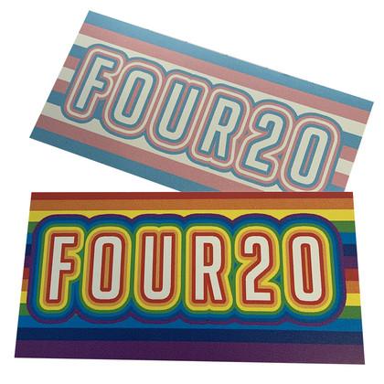 FOUR20 Pride Stickers