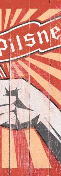 Pilsner Flag Illustration