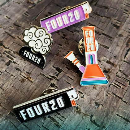 FOUR20 Enamel Pins