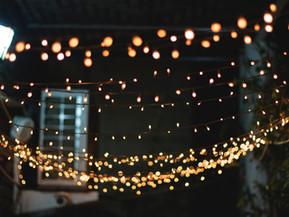 At Home Edition: Winter Festivities: Lighting Your Garden
