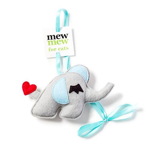 Ellie (Grey)  ribbon toy