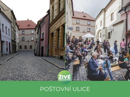 Náš návrh na vytvoření pěší zóny v Poštovní ulici byl zamítnut