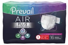 Culotte d'incontinence unisexe Prevail Air Plus