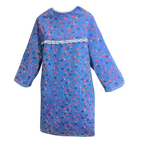 Chemise d'hôpital polyester-coton pour dames