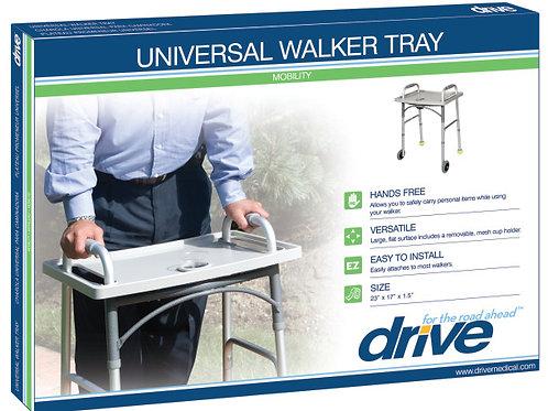 Plateau Walker universel avec porte-gobelet
