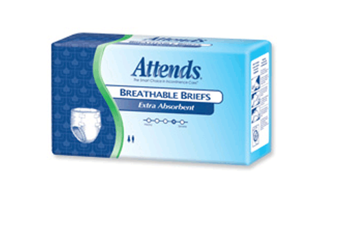 Culotte d'incontinence pour adulte Attends Extra Absorbant