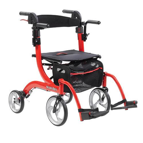 2 en 1 déambulateur et fauteuil nitro