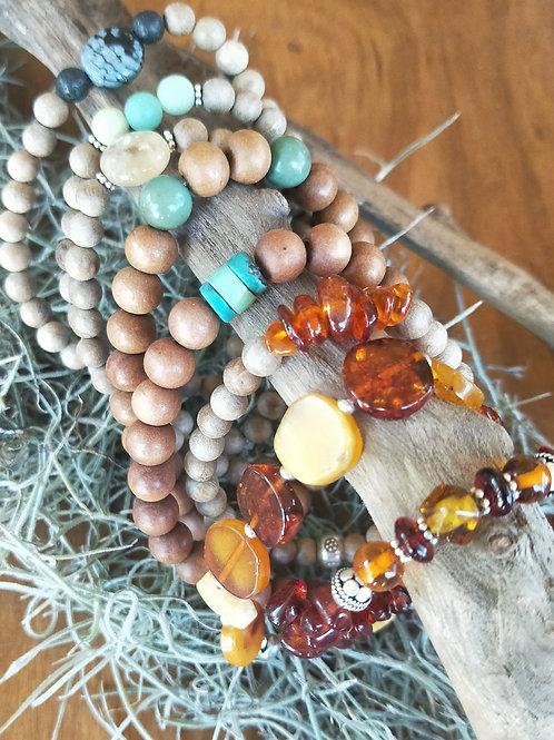 Assorted stretch bracelets