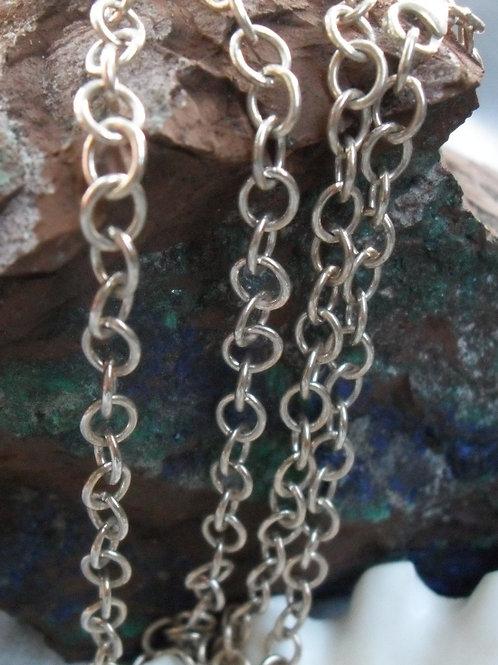 Chunky round link chain 60cm