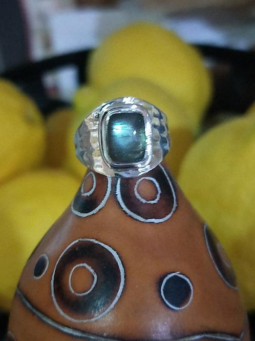 Adjustable Labradorite ring
