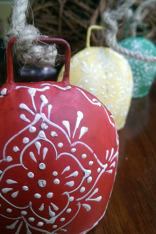 Henna Bells set of 3