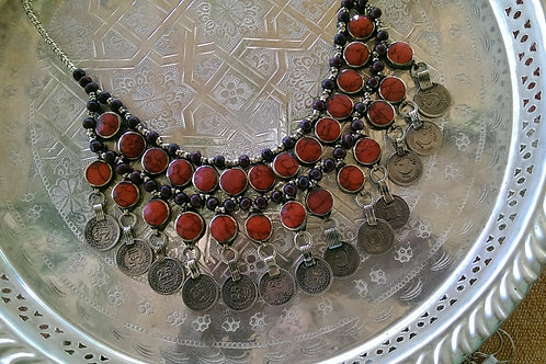 Red Kutchi Necklace