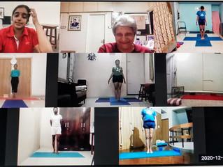 Day 2 -Yoganusasanam 2020 Zoom with Abhijata.