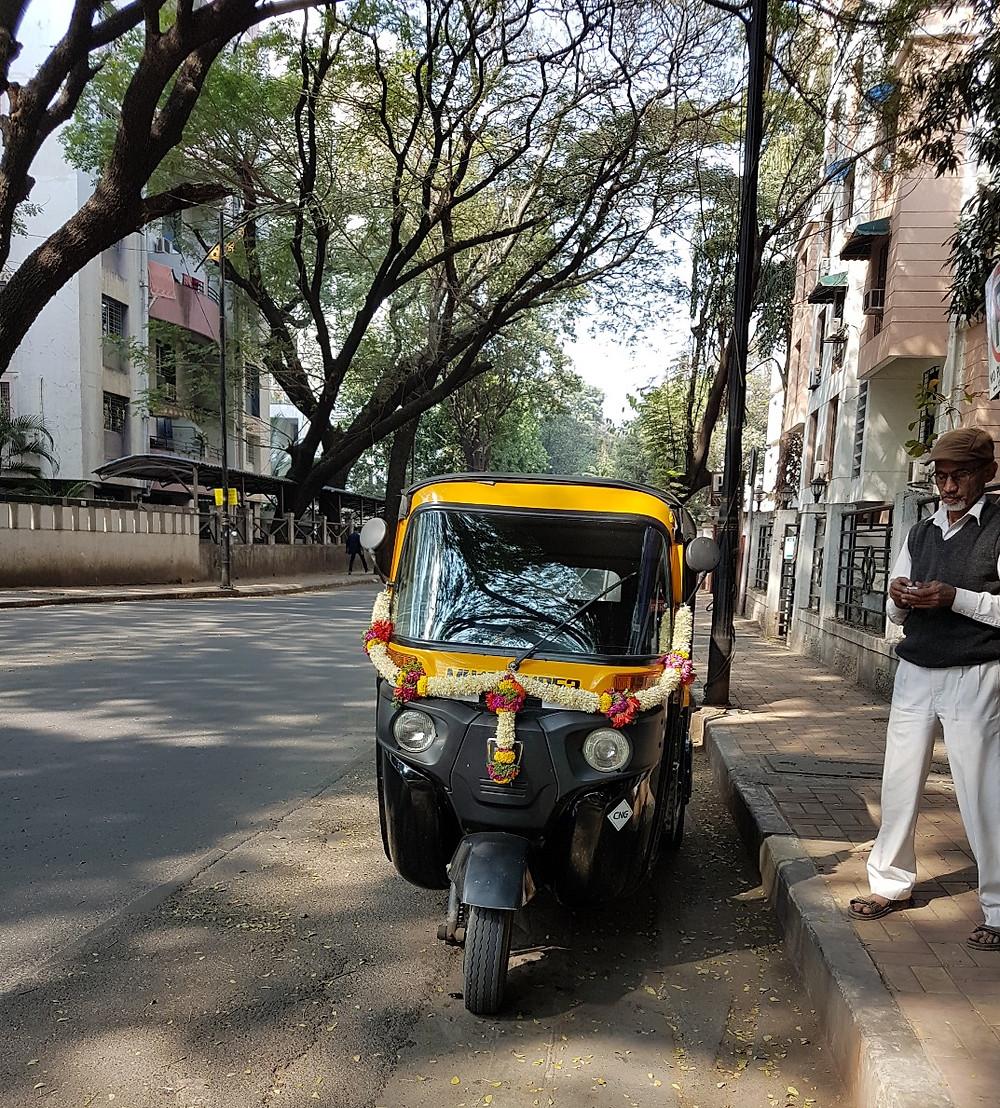 This rickshaw a bit more loved!
