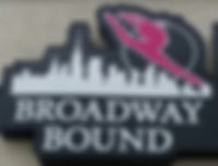 Broadway Bound Dance class sign