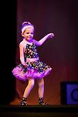 Broadway Bound preschool dancer