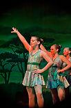 jazz dancers at Broadway Bound