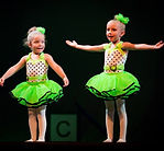 preschool Broadway Bound dancers