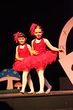 elementary age Broadway Bound dancers