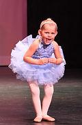 preschool dancer having fun