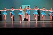 junior high tap dancers at broadway bound