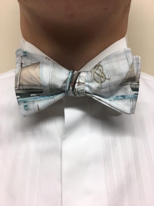 Sailing Boats Bow Tie