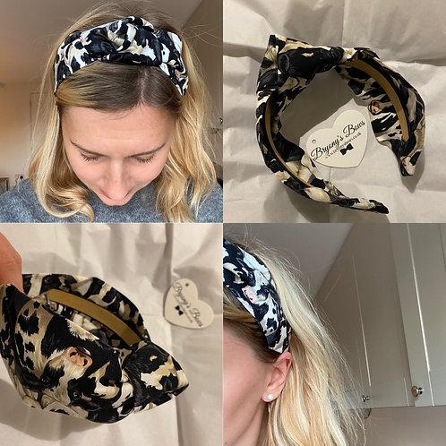 Crowded Cow Headband