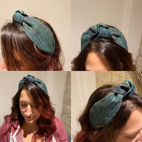 Hera Azure Navy Headband