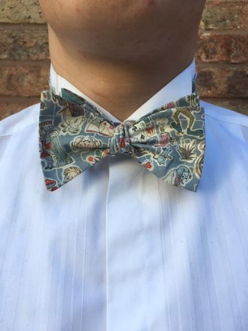 Alice In Wonderland Bow Tie