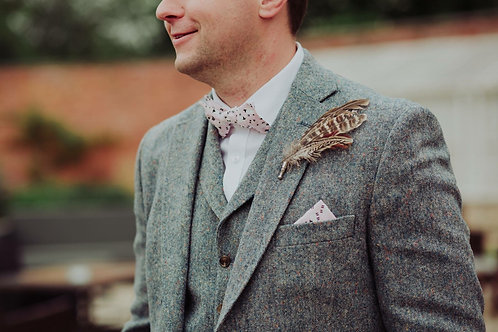 Pink Sheep Bow Tie