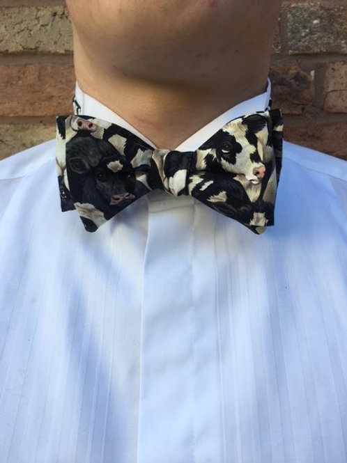 Crowded Cow Bow Tie
