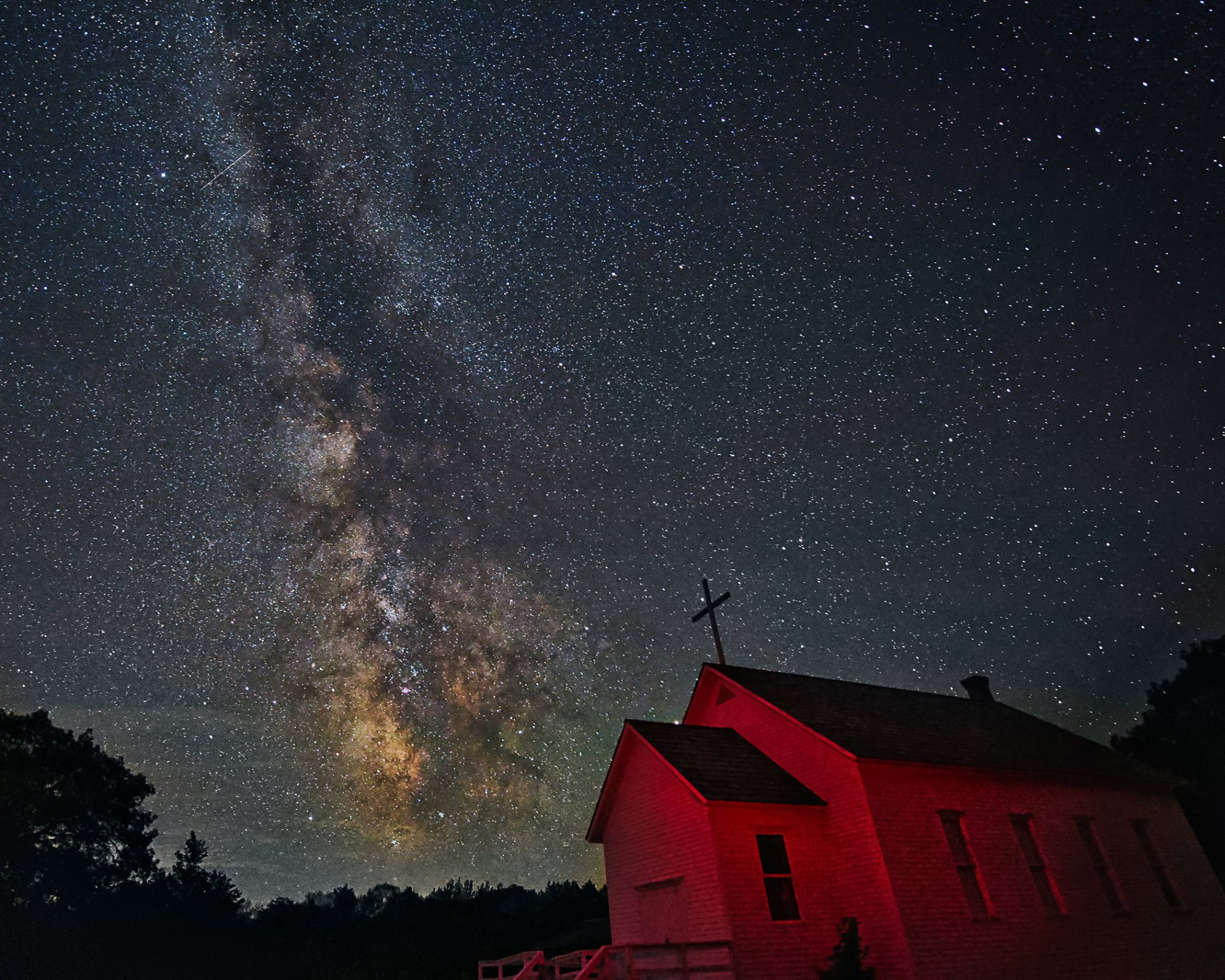 Milky Way - Church
