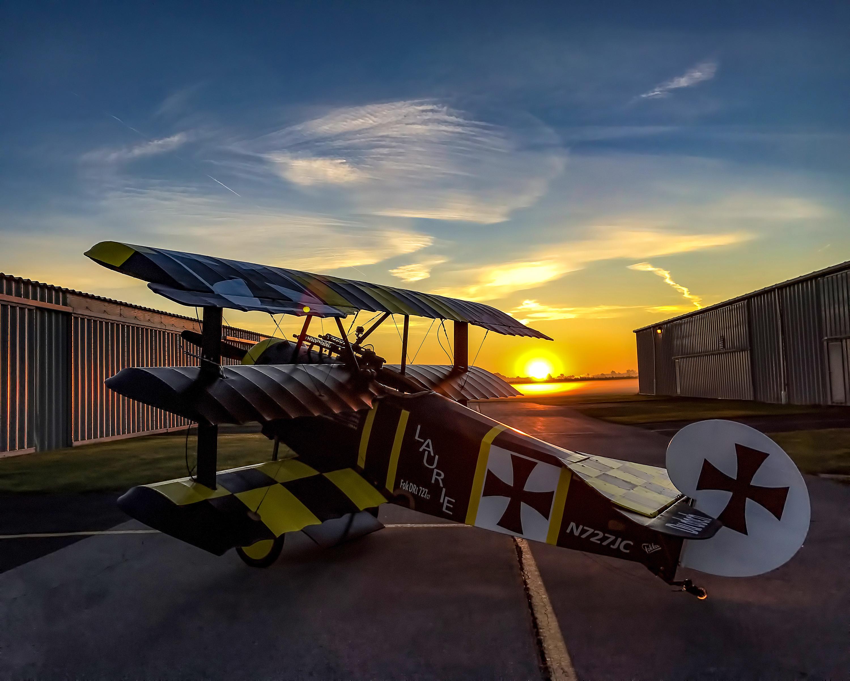 Triplane Sunrise