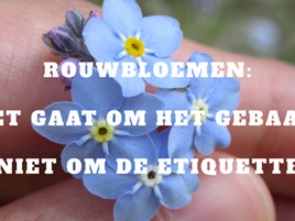 Rouwbloemen. Timing is een dingetje.