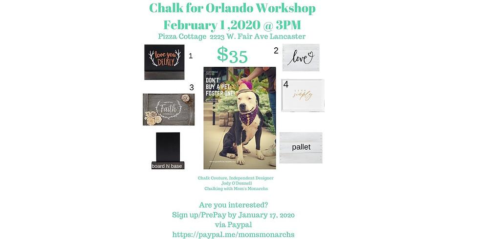 Chalk for Orlando Workshop