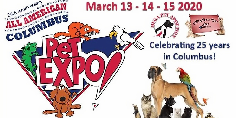 Columbus Pet Expo -- CANCELLED