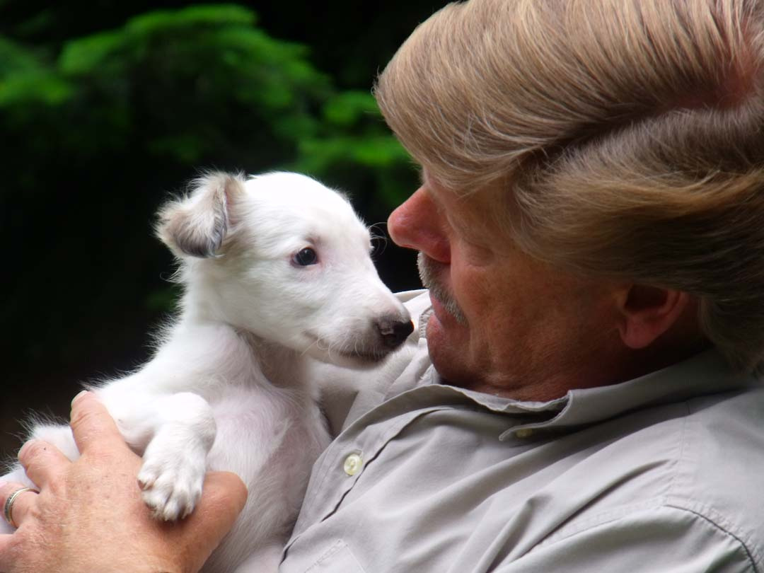 Roo loves Papa Jeff
