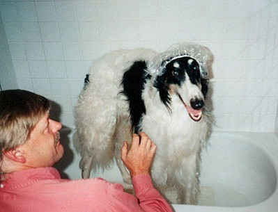 Trevor In The Tub