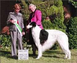 Cooper Award of Merit with Nadine Johnso