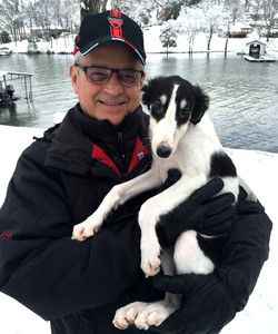 Nikai with Papa Dale