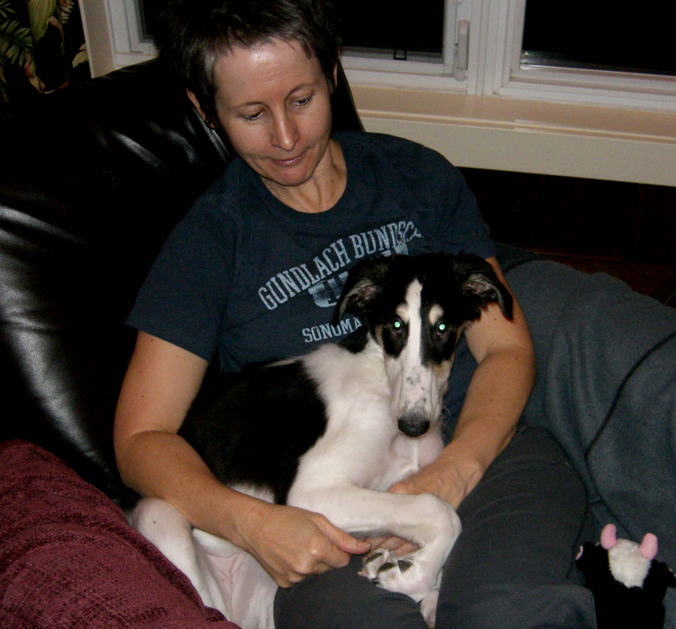 Leeza wiht her new Mom