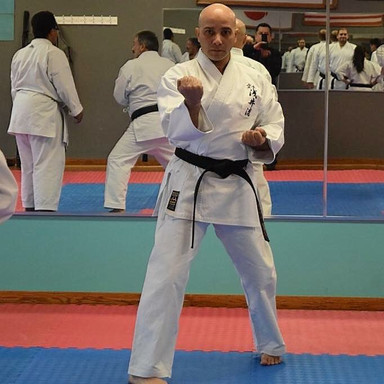 Training with friends of shito ryu
