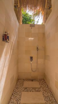 Open air shower Villa Hidden Jewel