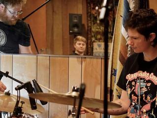 Kjirsten Tornfelt in the studio!