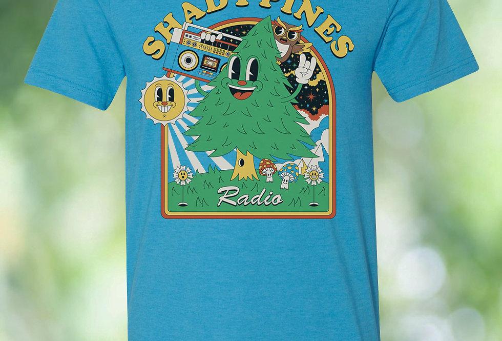 Shady Pines Radio T-Shirts (Happy Tree)
