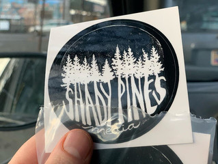 Shady Pines Media stickers are here!