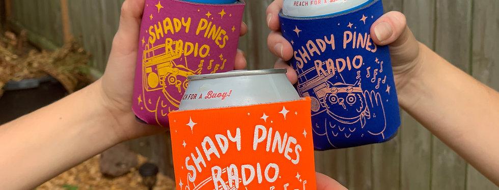 Shady Pines Radio Koozies
