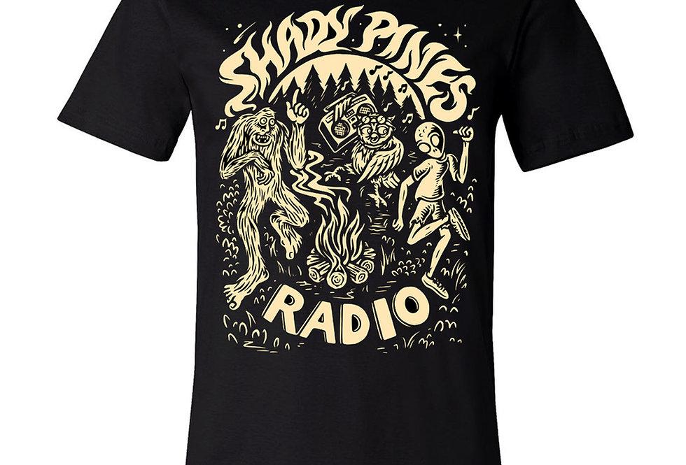 Shady Pines Radio T-Shirts (Bonfire)